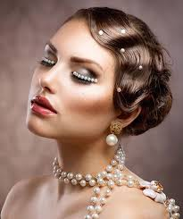 the great gatsby hair styles for women 1920s makeup ideas great gatsby makeup makeup ideas mag