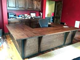 Custom Made Office Desks Custom Made Office Desk Home Built Furniture Office Decoration