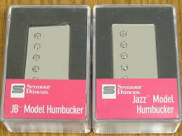 new seymour duncan jb jazz rodded pickup set humbucker sh 4 sh