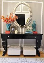 foyer accent table gorgeous accent table decor best ideas about console table decor