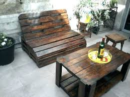 Wood Patio Furniture Sets Furniture From Recycled Wood Wooden Outdoor Chair Pallet Wood