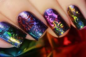 awesome new year nail art designs