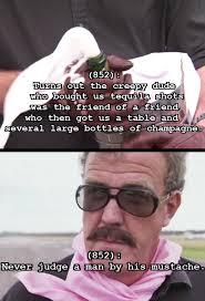 Creepy Mustache Meme - texts from clarkson hammond may