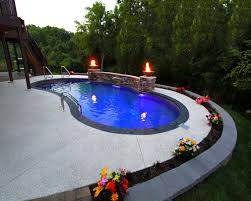 Backyard Pools Tupelo Ms by Mountain Lake Inground Pool With Vinyl Liner Pools Pinterest
