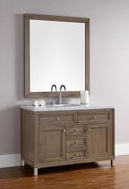 Bathroom Vanities Chicago Martin Chicago Single 48 Inch Transitional Bathroom Vanity