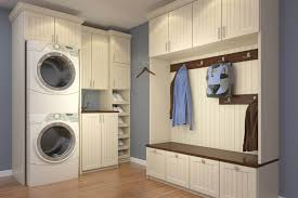 Laundry Room Storage Between Washer And Dryer by 50 Fantastic Mudroom Ideas For 2017