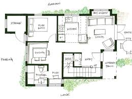 Backyard Bungalow Plans 36 Best Floor Plan Images On Pinterest Design Floor Plans Small