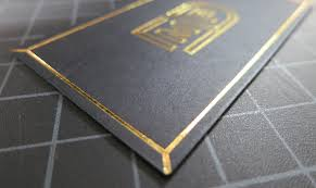 black business cards printed in nyc publicide inc