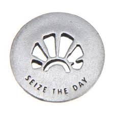 carpe diem blessing ring on back sieze the day