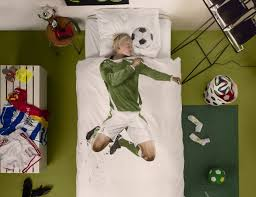 soccer champ duvet cover by snurk gadget flow