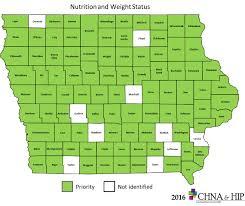 Map Of Iowa Counties Chna U0026 Hip Community Health Needs