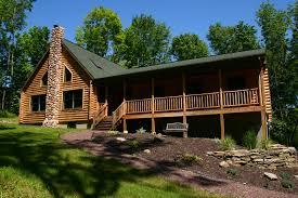 ranch log home floor plans modular homes log cabins kintner inc nepa uber home decor u2022 15299