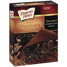 pillsbury baking pillsbury dark chocolate cake mix walmart com