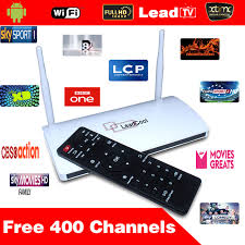 android tv box channels list 5pcs lot leadcool android box android tv box one month