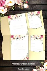 pocket invitation kits lovely pocket folder wedding invitation kits or lovely pocket