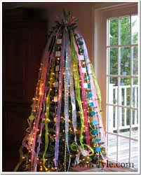 christmas tree ribbon how to decorate a christmas tree with ribbons in my own style
