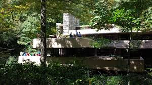 falling water residence art in kaufman residence bear run the