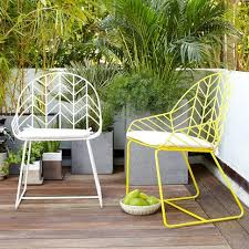 Yellow Patio Chairs Dining Chair West Elm