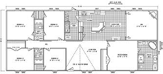 5 bedroom mobile homes floor plans modular home floor plans 4 bedrooms bedroom floor plan b 6594