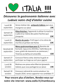 zodio chambourcy atelier cuisine nouveau podium italia à chambourcy zôdio