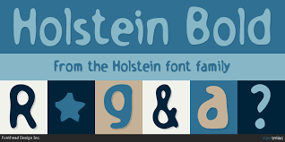 holstein fonts by fonthead design inc fontspring