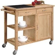 linon kitchen island linon 44015bmb 01 kd u bamboo kitchen cart with inlaid granite top