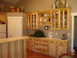 what paint color goes best with hickory cabinets wall color with our hickory cabinets home kitchens