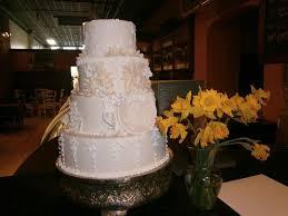 Wedding Cake Display Sample Wedding Cake On Display Picture Of Karen Donatelli Bakery