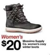 target womens boots mossimo s mossimo supply co s cozy winter boots 20 0 at