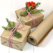 brown gift wrapping paper brown ribbed kraft wrapping paper 10 metre roll pipii