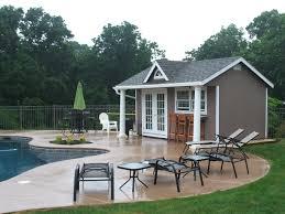 Build Pool House Darsan Landscape U0026 Build The Minimalist Nyc