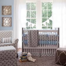 Plain Crib Bedding Gray Geometric Crib Bedding By Carousel Designs Baby Stuff