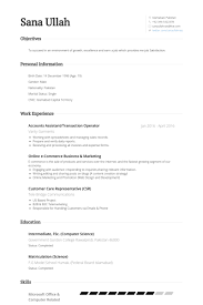 Resume For Accounts Job by Accounts Assistant Resume Samples Visualcv Resume Samples Database