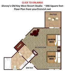Villas At Wilderness Lodge Floor Plan by Old Key West 1 Bedroom Villa Floor Plan Gallery Also Resort Room