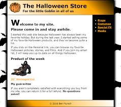 halloween date background html u0026 css melisssa creations