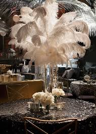 great gatsby centerpieces the colin cowie celebrations team put on a lavish affair for this