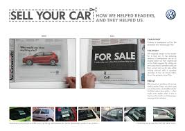 newspaper car ads volkswagen print advert by ogilvy sell your car ads of the world