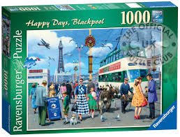 ravensburger jigsaw puzzles happy days blackpool 1000pc at the