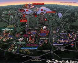 Walt Disney World Maps by Walt Disney World Resort Walt Disney Polynesian Resort And
