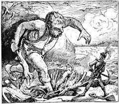 jack the giant killer english fairy tale the three headed giant jack takes on the giants once more of education