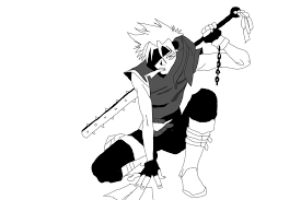 anime boy sketch by blacklightning95 on deviantart