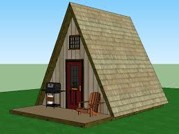 small a frame house plans free a frame cabin simple solar homesteading