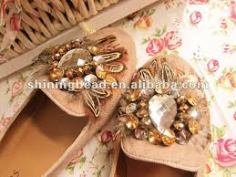 fashion flower shoe clip s shoe ornaments with stones for