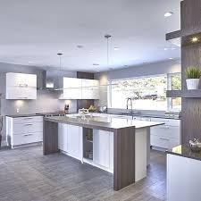 cuisine avec comptoir cuisine urbaine avec comptoir de stratifie et quartz cuisine idées