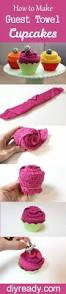 how to make guest towel cupcakes diy tutorial