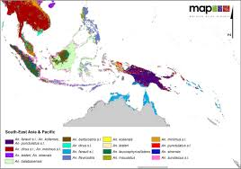 Southern And Eastern Asia Map by A Global Map Of Dominant Malaria Vectors Parasites U0026 Vectors