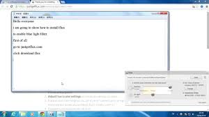 what does blue light filter do how to use blue light filter for windows youtube