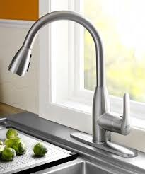 kitchen faucet stainless steel american standard 4175 300 075 colony soft pull kitchen
