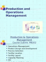 download production u0026 operation management distinguish