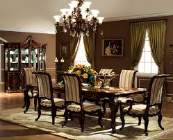 Formal Dining Room Sets For 8 Ashley Furniture 10 Pc Dining Room Set W China Cabinet